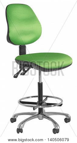 Green And Black Office Swivel Chair 04