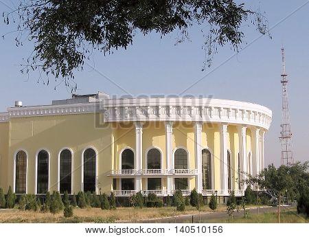 Tashkent Uzbekistan - August 31 2007: Conservatory.
