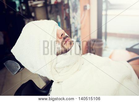Traditional Ritual Of Shaving The Beard