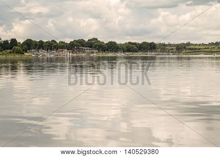 An image of a sailing club situated on the beautiful Rutland Water Rutland England UK