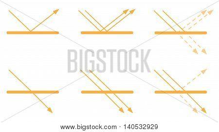 uv logo and icon vector , line uv set
