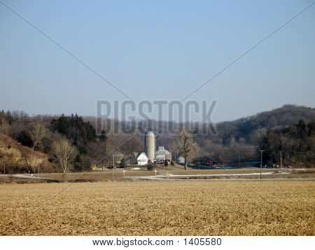 Farm In Loess Hills