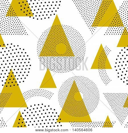 Seamless Abstract Geometric Pattern