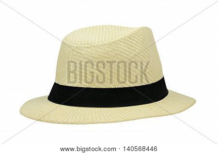 Summer hat isolated on a white background