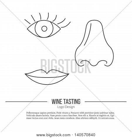 human nose eye lips vector photo free trial bigstock
