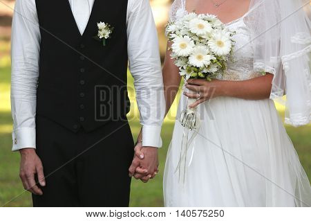 wedding spousal love Bride and groom bridal pair happiness