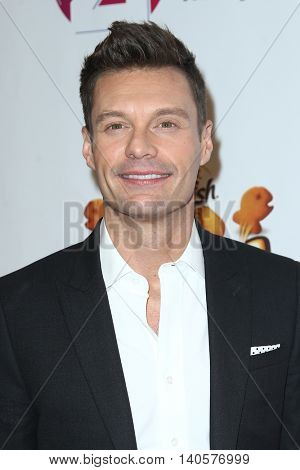 NEW YORK-DEC 12: TV host Ryan Seacrest attends Z100's Jingle Ball 2014 at Madison Square Garden on December 12, 2014 in New York City.
