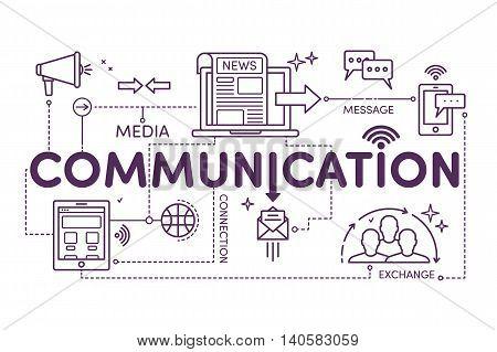 Linear Illustration Communication