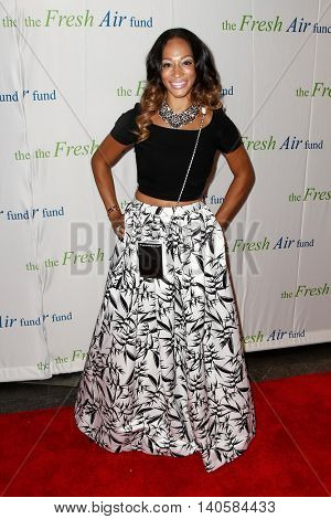 NEW YORK-MAY 29: Alexis Stoudemire, wife of NBA player Amar'e Stoudemire attends the Fresh Air Fund Spring Gala Salute at Pier Sixty at Chelsea Piers on May 29, 2014 in New York City.