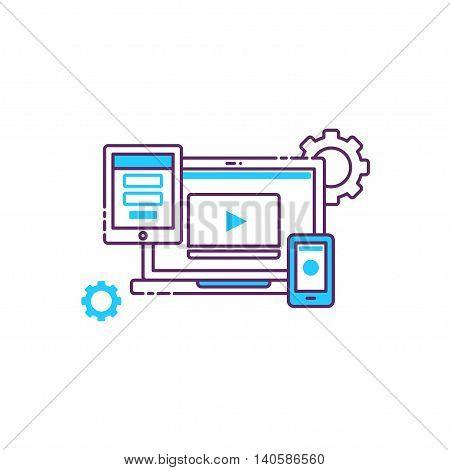 Icon Interaction Design Interface