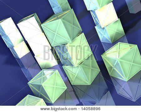 Green Iron Boxes
