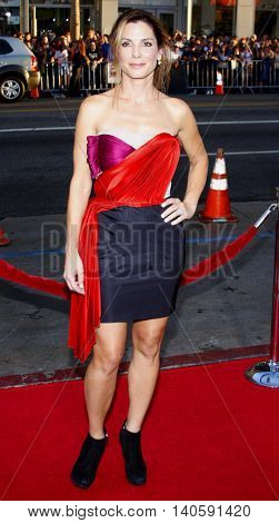Sandra Bullock at the World premiere of 'All About Steve' held at the Grauman's Chinese Theater in Hollywood, USA on August 26, 2009.