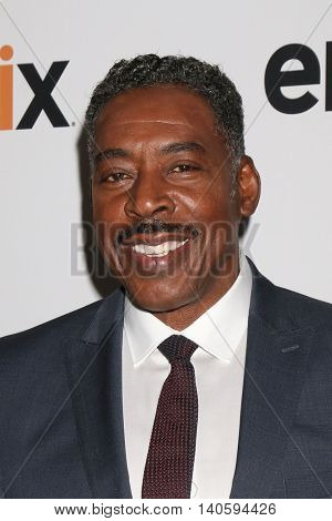 LOS ANGELES - JUL 30:  Ernie Hudson at the EPIX Television Critics Association Tour Photo Line at the Beverly Hilton Hotel on July 30, 2016 in Beverly Hills, CA