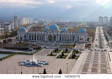 zentralen Platz. Aschgabat. Turkmenistan.