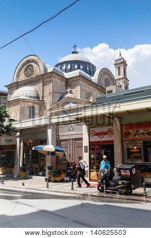 Hagia Triada Church In Istanbul, Turkey