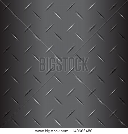 Metal list with rhombus shapes grey background stock vector