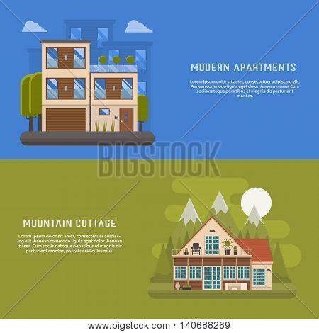 Scandinavian Design House Banners
