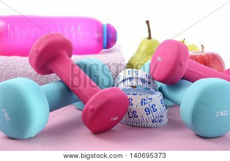 Health And Fitness Concept.