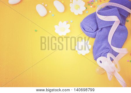 Baby Shower Nursery Background