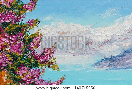 painting texture oil painting landscape impressionism art painted color image backgrounds and wallpaper floral pattern on canvas