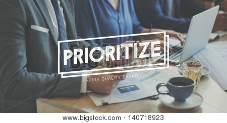 Prioritize Effectivity Importance Importance Order Concept