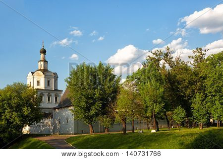 Spaso-Andronikov monastery. Temple of the Archangel of Mikhail Moscow