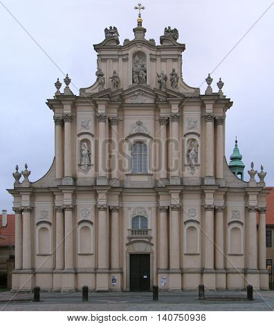 Church of the Assumption of the Virgin Mary and of St. Joseph in Warsaw, Poland