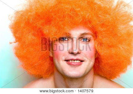 Red-Haired Smiling Man