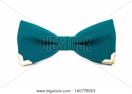 Nonstandard Bow Tie Isolated On White Background.