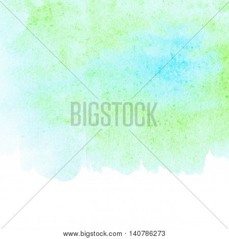 Abstract hand drawn watercolor background. Abstract ink spot textured background. High resolution