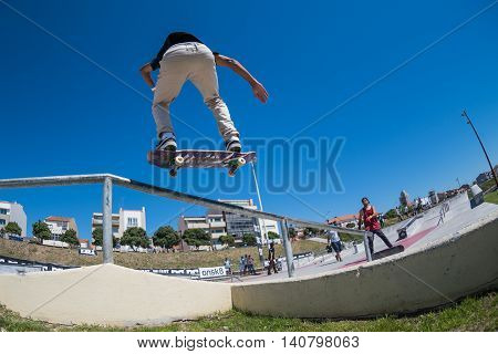 Joao Fernandes During The Dc Skate Challenge