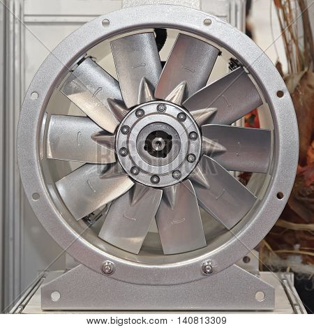 Industrial Axial Fan Blower With Blade Pitch