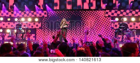 NEW  YORK-NOV 13: Tove Lo performs on stage at VH1's 2nd Annual 'You Oughta Know Live In Concert' 2014 at Hammerstein Ballroom on November 13, 2014 in New York City.