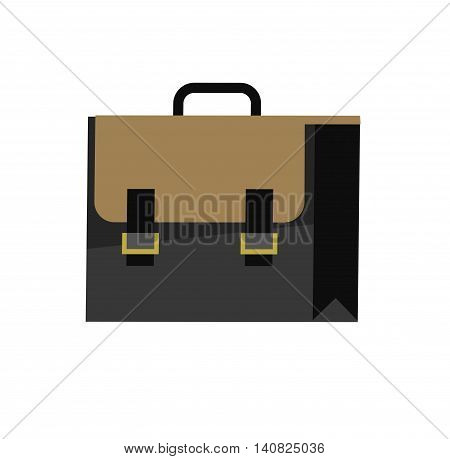 Color Sale Bag. Vector illustration. Flat style