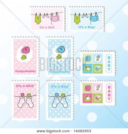 Baby Briefmarken