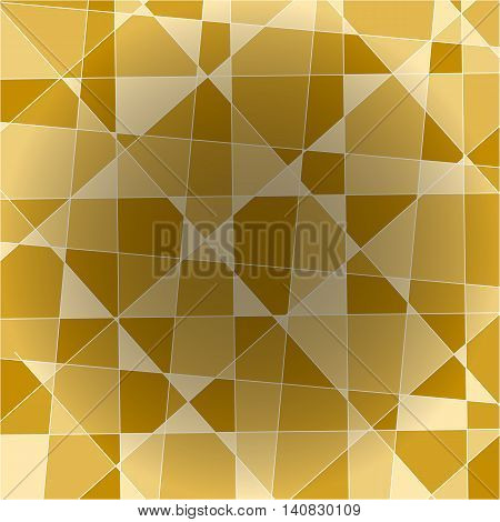 Fragment of an abstract yellow background stock vector