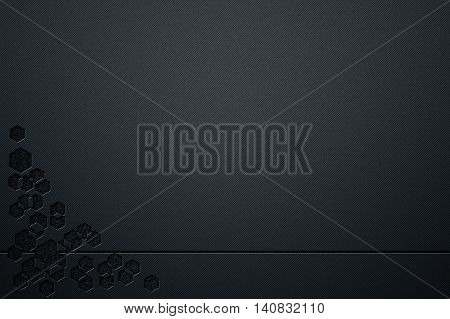 luxury metallic wall. metal background and texture. modern design for business card. 3d illustration.