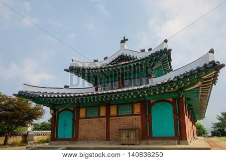 Ganghwa Anglican Church of Korea which was consecrated in 1900