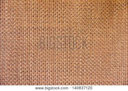 Light brown wicker texture background