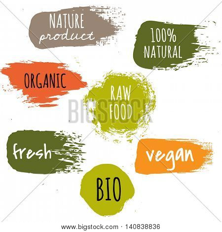 Label Big Set, Vector Illustration
