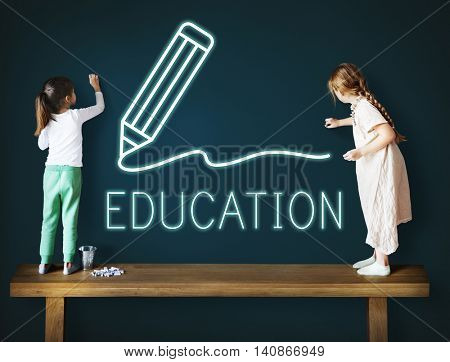 Education Learning Studying Knowledge Graphic Concept