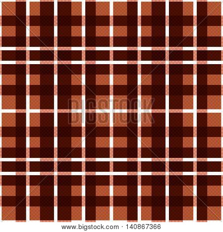 Seamless Rectangular Pattern In Brown