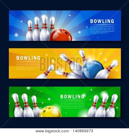 Attractive Bowling Banner