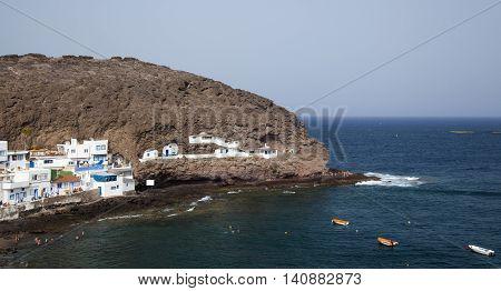 Gran Canaria, Cove Playa De Tufia