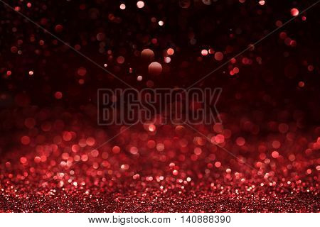 Christmas or valentines day abstract defocused background with copy space