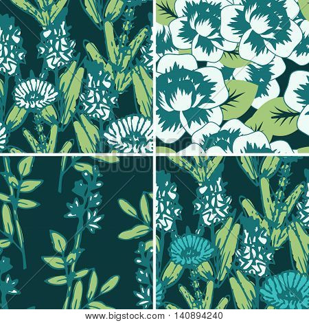 Seamless Floral Patterns
