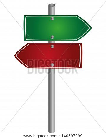 flat design name of place traffic sign icon vector illustration