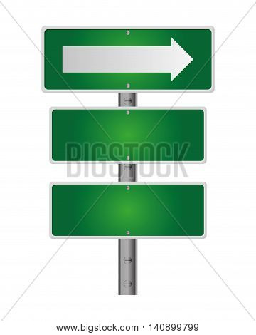 flat design traffic sign icon vector illustration