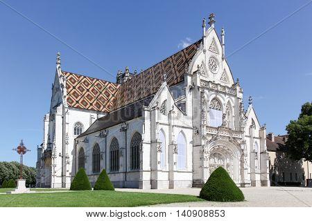 Royal Monastery of Brou in Bourg en Bresse, France