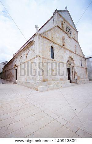 Old mediterranean stoney church